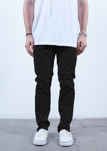 Rustic Dime Slim Fit Chino Black Denim Jeans