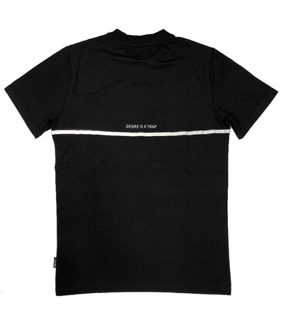 The Hideout Clothing Cut Throat Black Knit T-Shirt