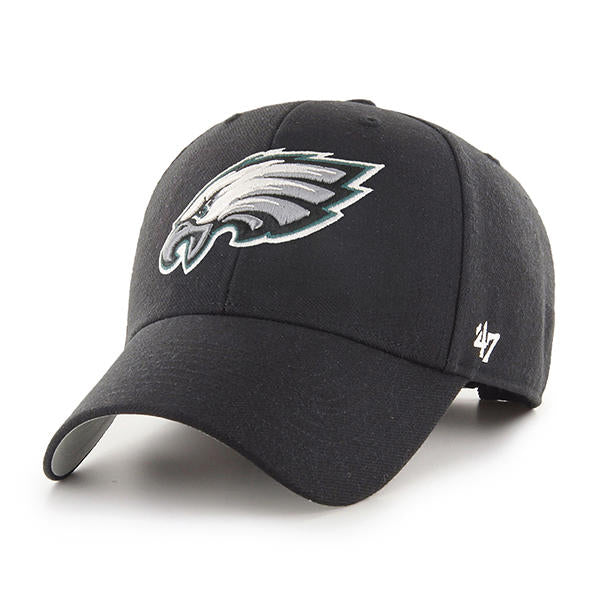 47 Brand Philadelphia Eagles MVP Black Dad Hat