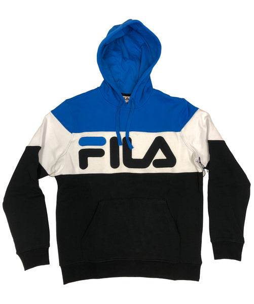 Fila Flamingo Blue-White-Black Hoodie