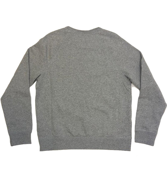 Nautica Graphic Script Heather Grey Crewneck
