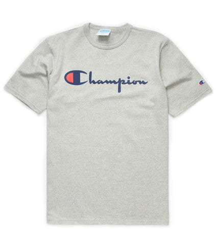 Champion Heritage Script Grey T-Shirt