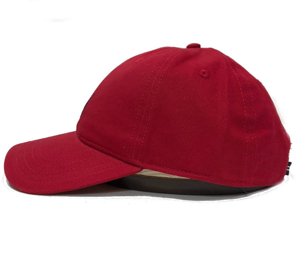 Nautica Anchor J Red Strapback Dad Hat