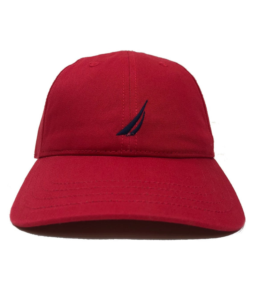 Nautica Anchor J Red Strapback Dad Hat – Sickoutfits fb4f56b913a