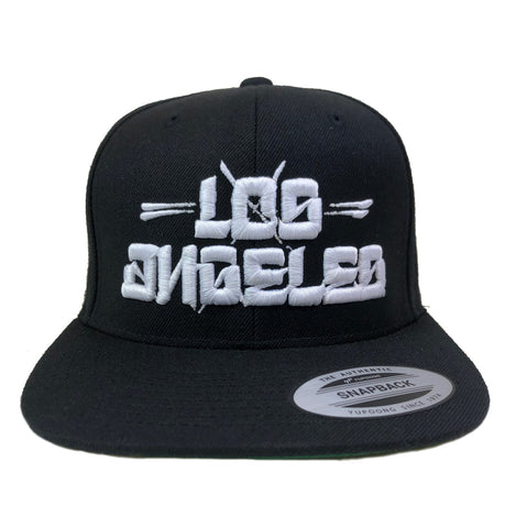 Streetwise Gear Los Angeles Block Life Black Snapback Hat
