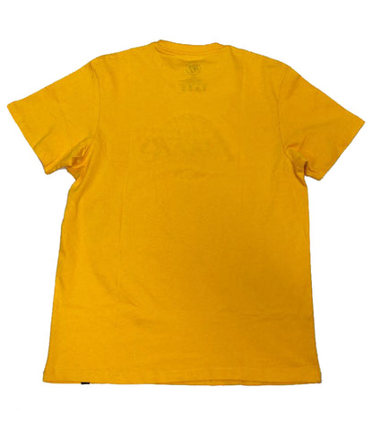 47 Brand Los Angeles Lakers Logo Yellow T-Shirt