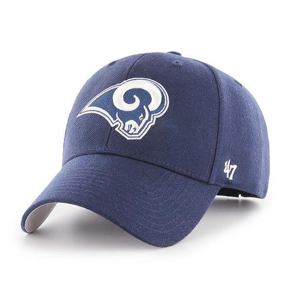 47 Brand Los Angeles Rams NFL MVP Navy Dad Hat