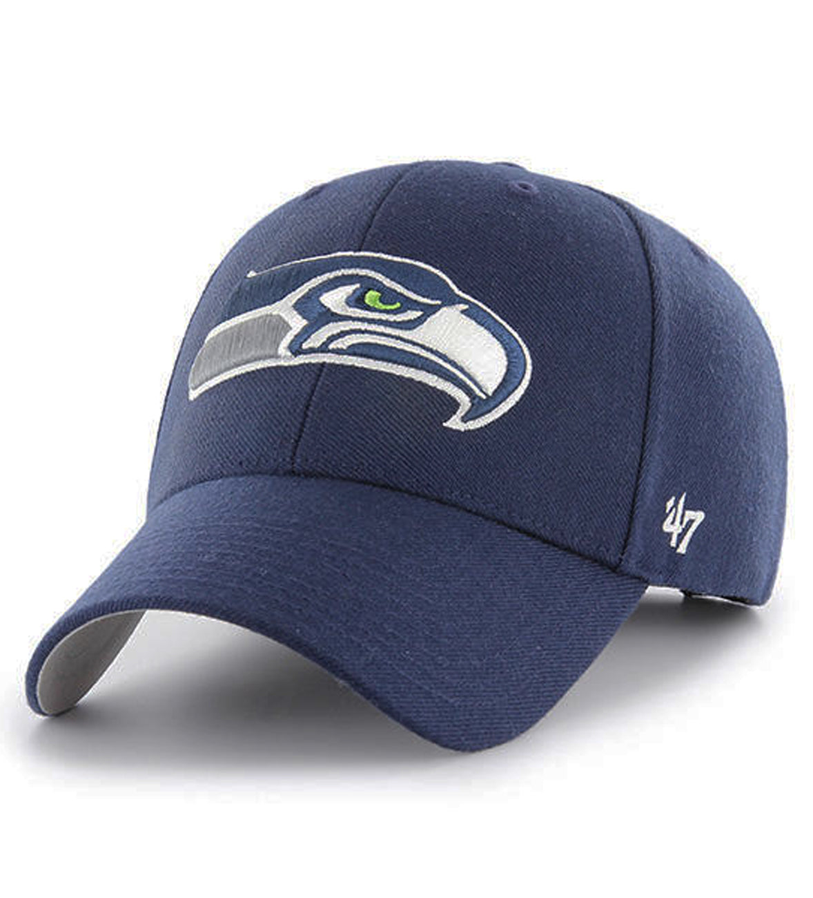pretty nice 84019 12d27 47 Brand Seattle Seahawks NFL MVP Navy Dad Hat – Sickoutfits