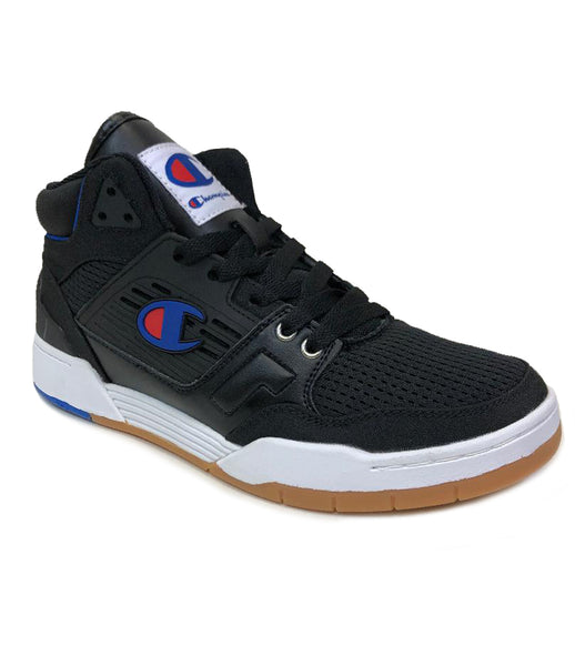 Champion 3 On 3 Black Sneaker Shoes