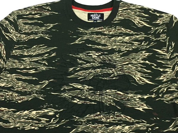 Hustle Gang Warpath Camo Knit Tee