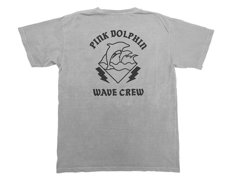 Pink Dolphin WC Powder Wash Grey T-Shirt