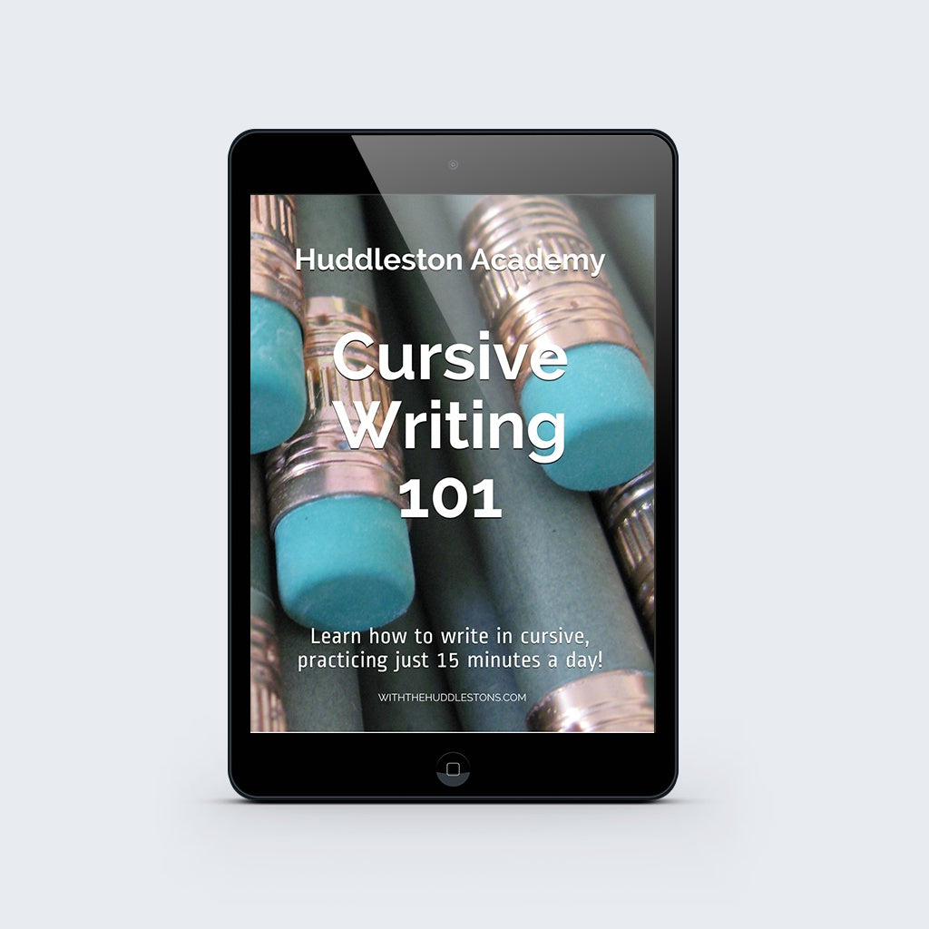 Cursive Writing 101 Workbook