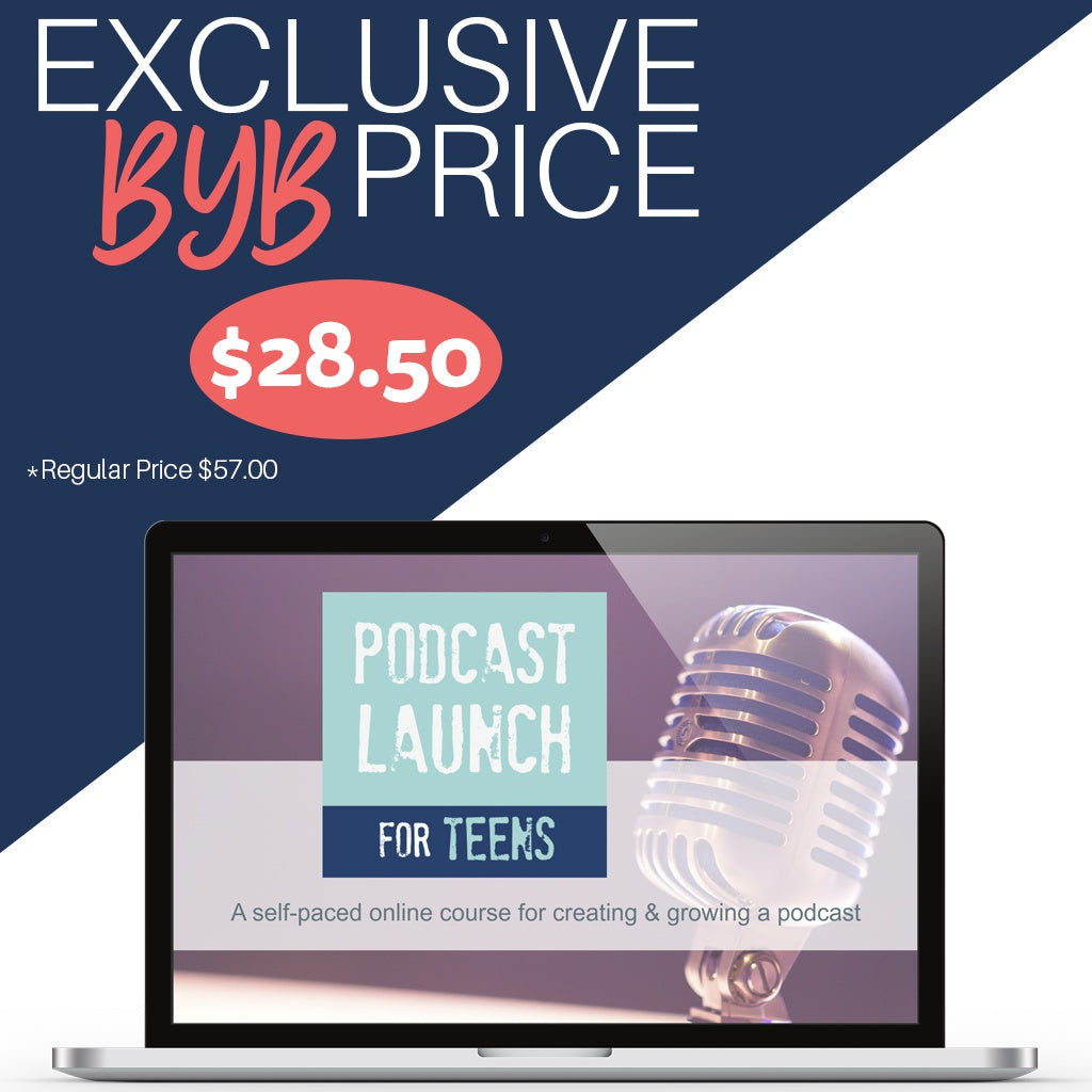 Podcast Launch for Teens