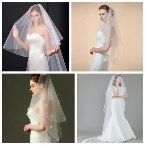 two-tier veils