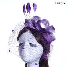Bow Fascinator Birdcage Veil- in 5 colors-Your Wedding Veil Store