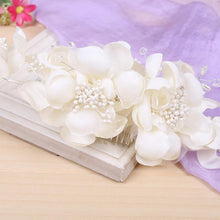 Flower Spray Hair Comb-Your Wedding Veil Store