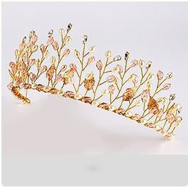 Jeweled Vines Headband Tiara-Your Wedding Veil Store