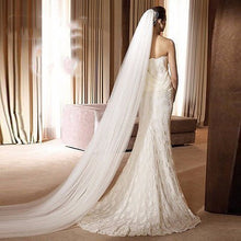 Royal Length Soft Tulle Veil