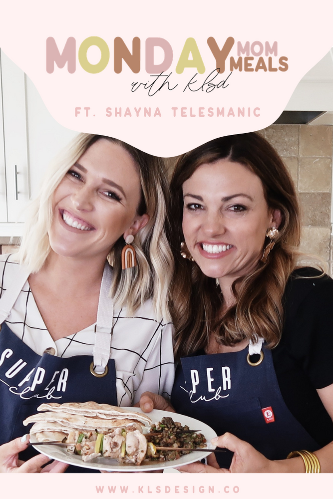 Lemon Chicken Skewers Recipe | Monday Mom Meals with Chef Shayna