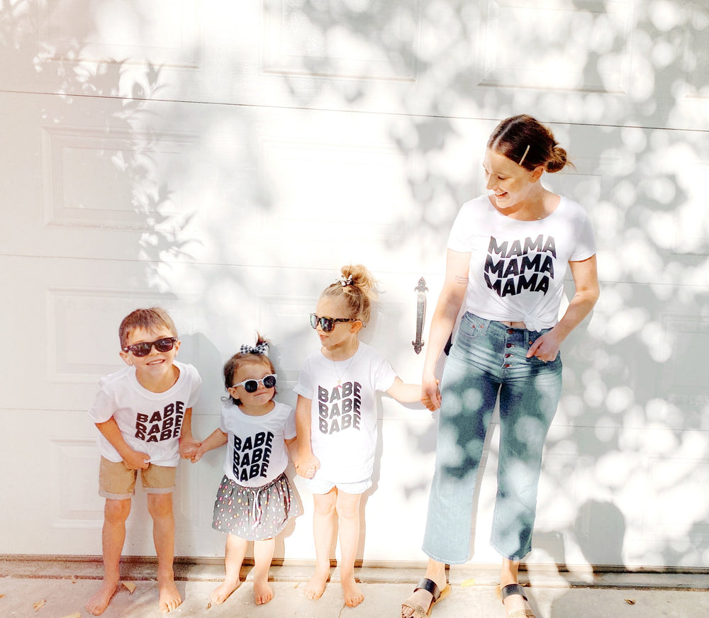 for the groovy mamas + her babes.