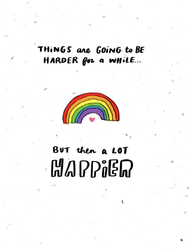 harder then happier-Thoughtful Human