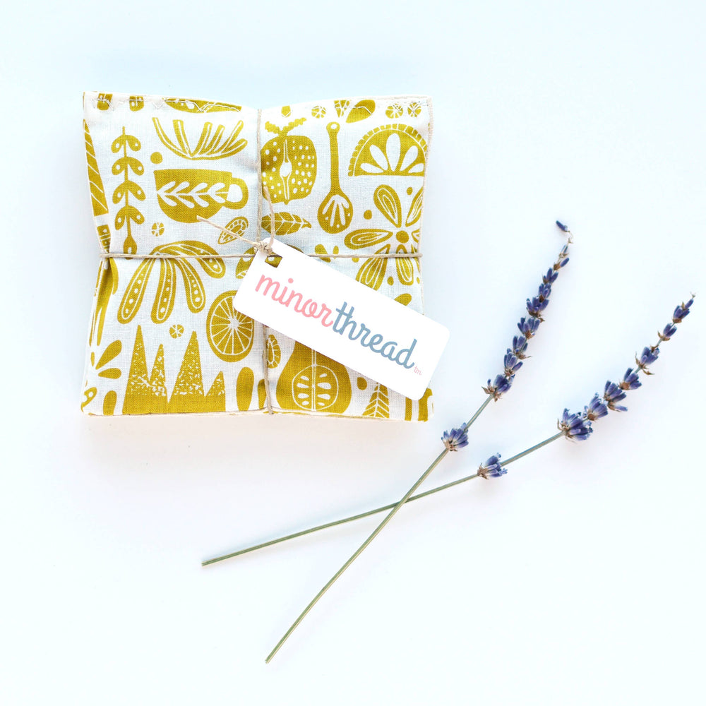 Kindred Fable Gold-Organic Lavender Sachets - Set of 2