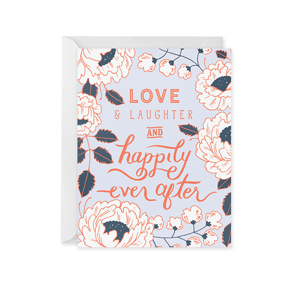 Happily Ever After Card - Paper Raven Co.