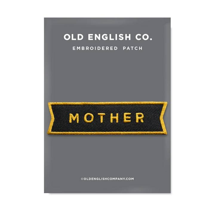 Old English Company - Mother Embroidered Patch