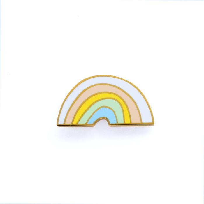 Load image into Gallery viewer, Old English Company - Rainbow Enamel Pin