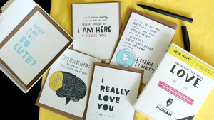 Load image into Gallery viewer, Love Support Series, 5-pack-Thoughtful Human
