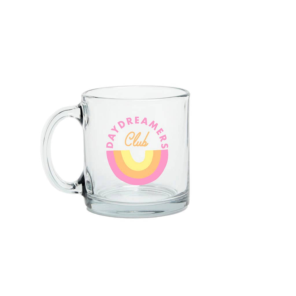 Talking Out of Turn - Glass Mug (Day Dreamers Club)