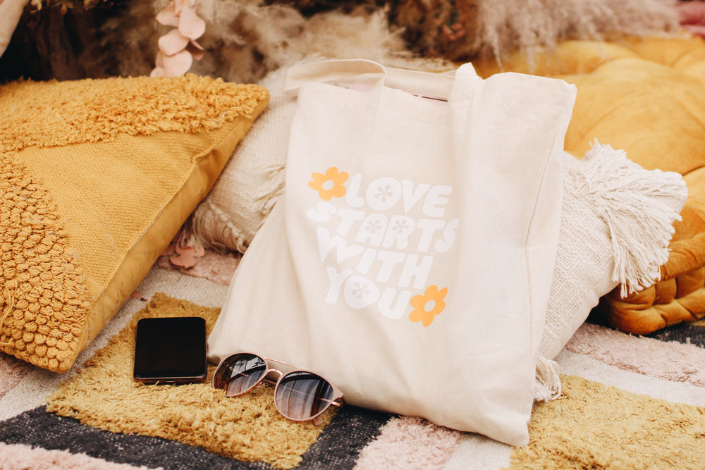 Love starts with you Tote