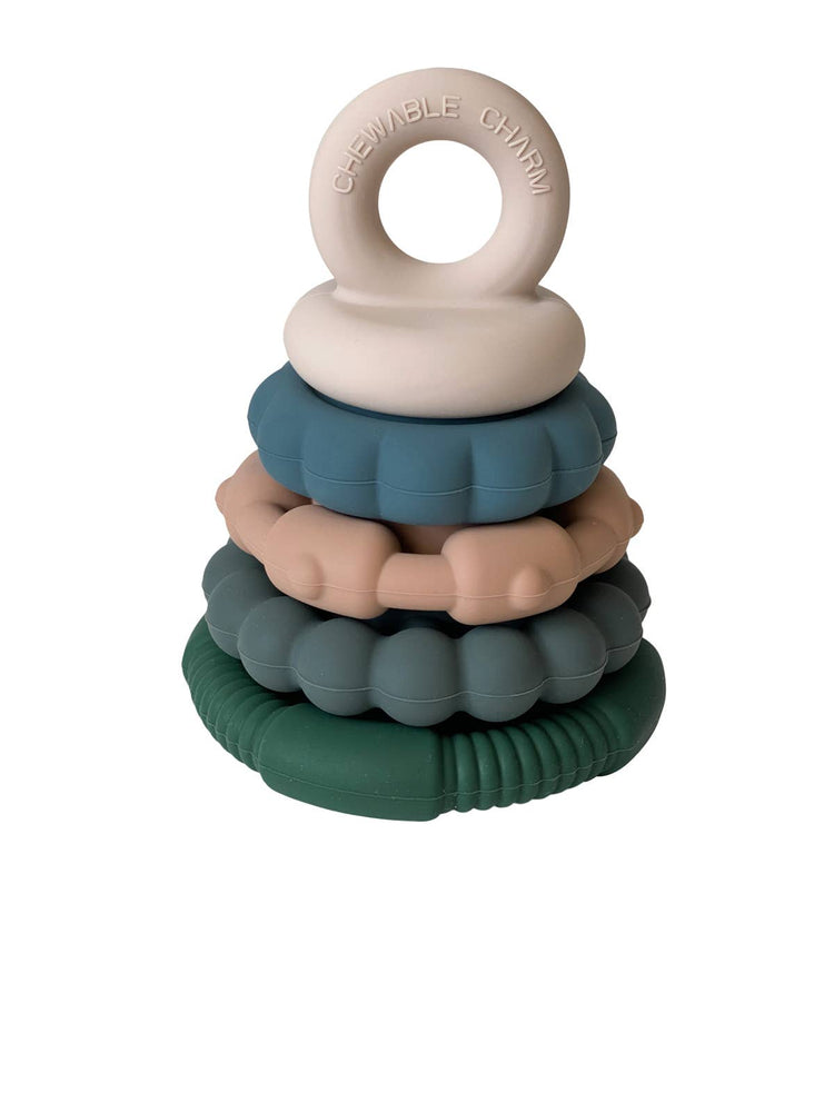 Chewable Charm - Forest Teether Stacker