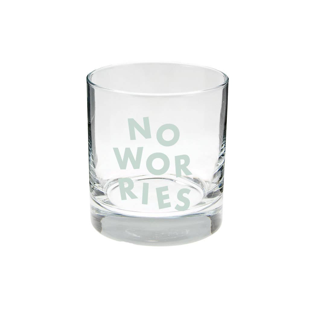 No Worries - Terrazo Individual Rocks Glasses