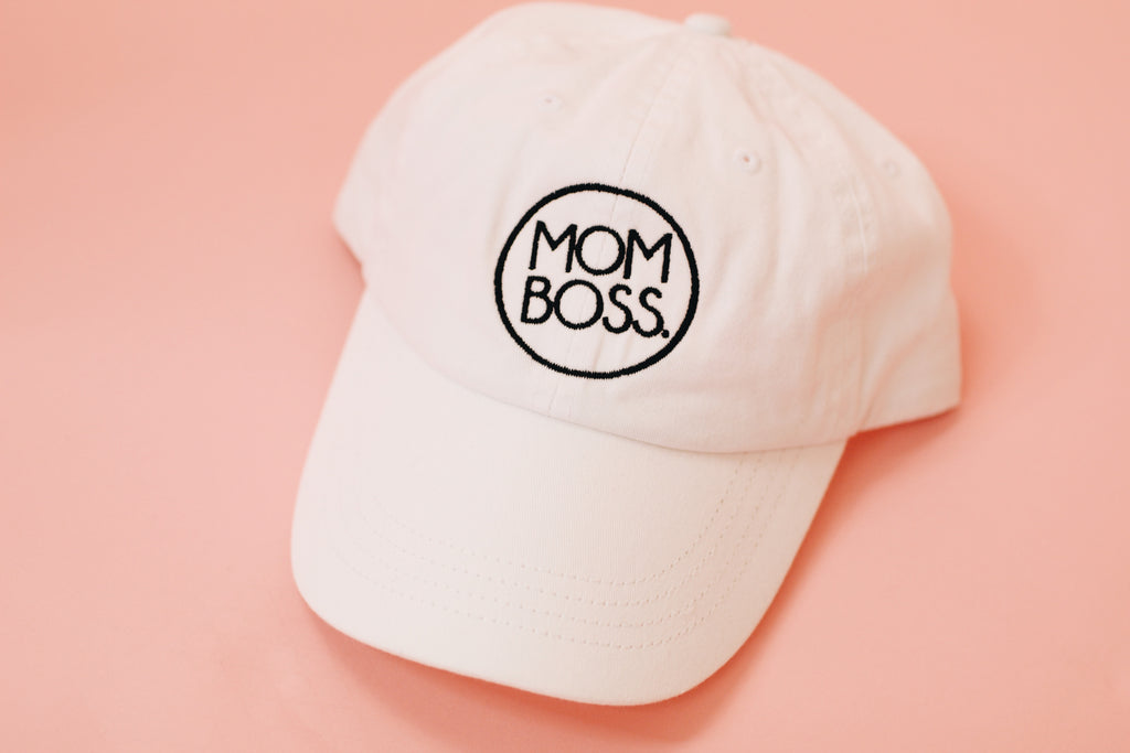 mom boss vintage hat