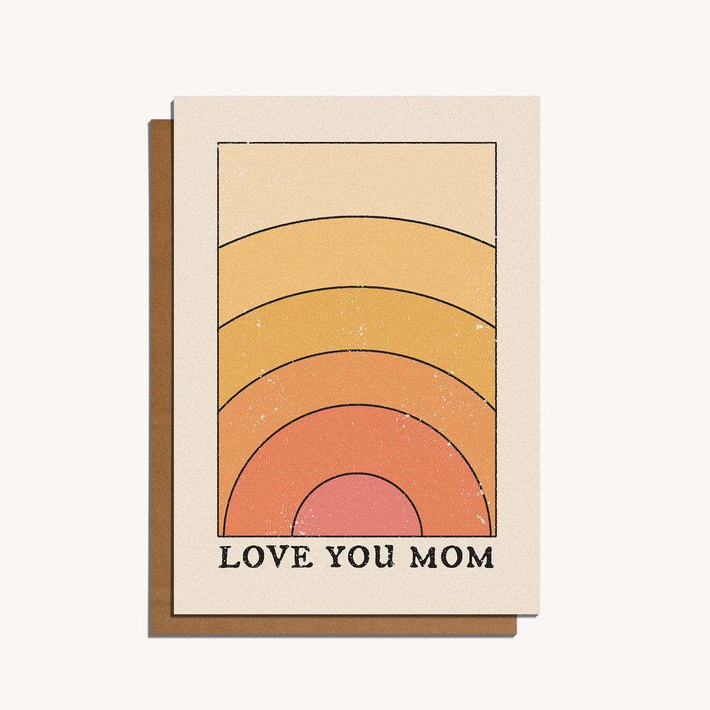 cai & jo - Love You Mom Card