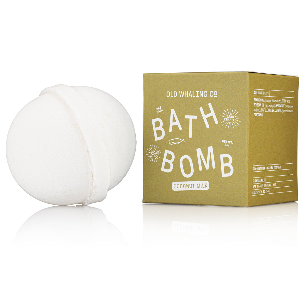 Coconut Milk Bath Bomb - Old Whaling Company
