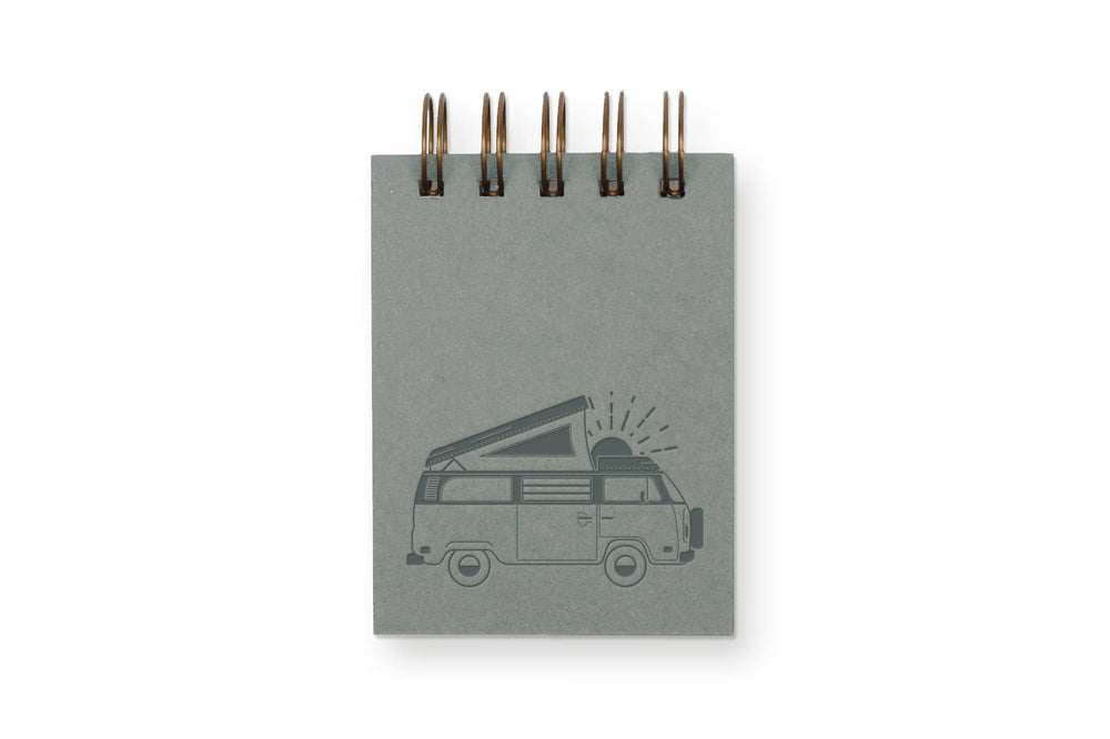 Ruff House Art - Wanderer Mini Jotter Notebook
