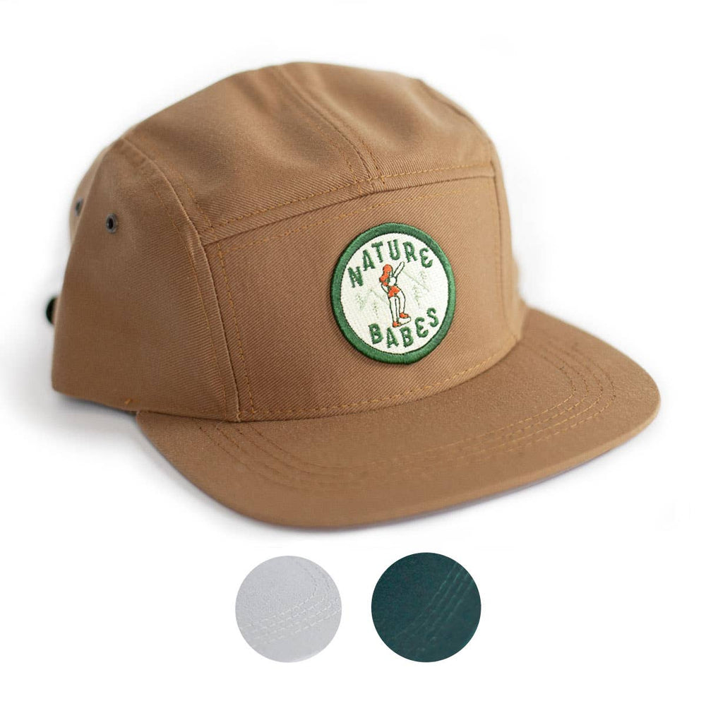 Ello There - Baseball Hat with Nature Babes patch
