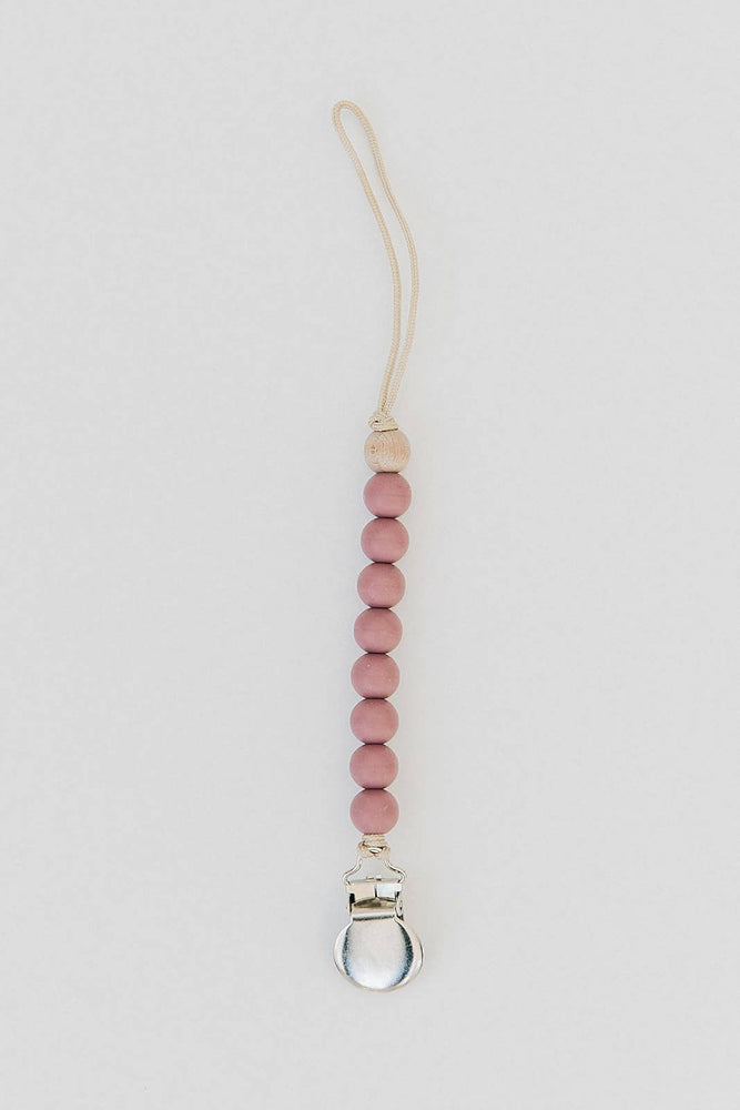 Victoria Pink- Pacifier Clip