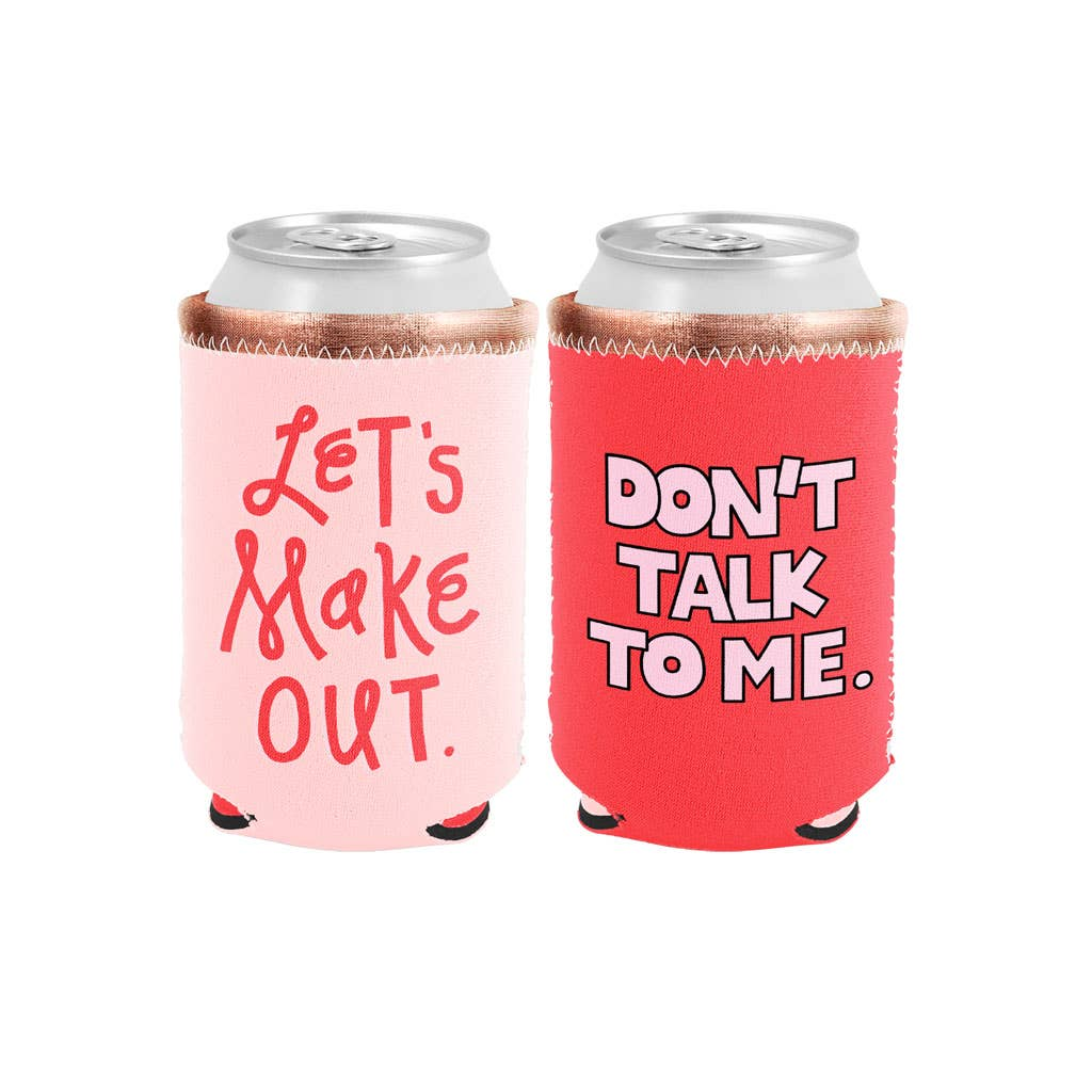 Talking Out of Turn - Reversible Can Coolers