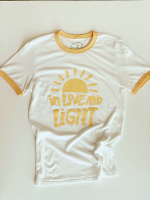 Load image into Gallery viewer, In Love and Light tee