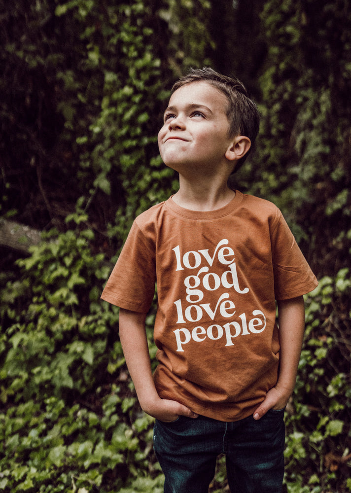 Love God Love People Kids Shirt