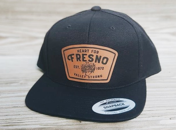 Heart for Fresno Men's Hat