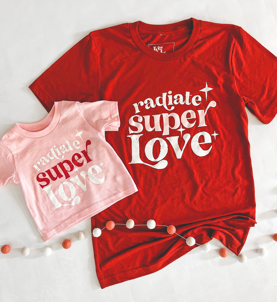 Radiate Super love rusty red Tee