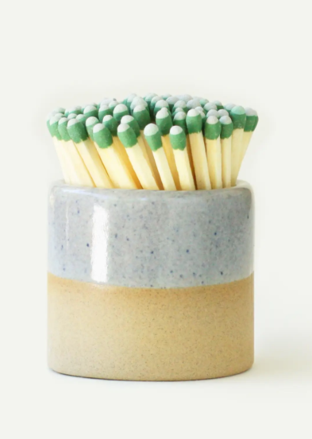 gray ceramic match striker