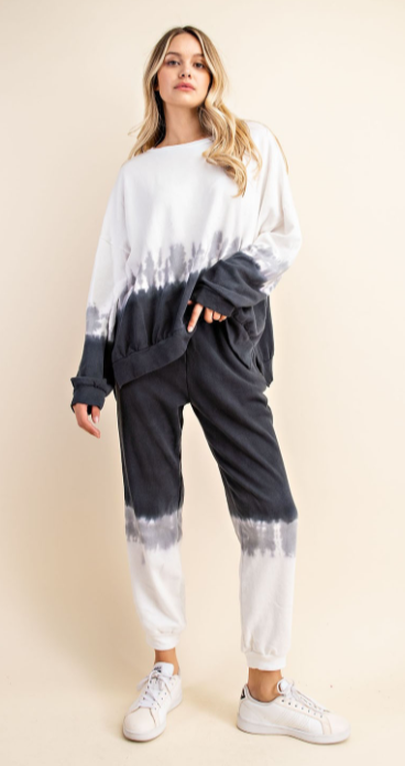Tie Dye jogger sweat set