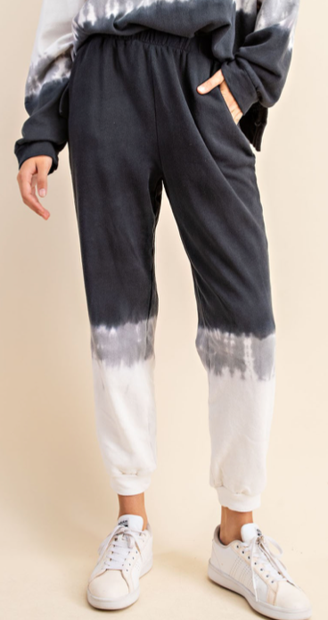 Load image into Gallery viewer, Tie Dye jogger sweat set