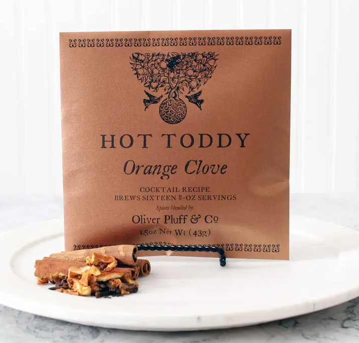 Orange Clove Hot Toddy
