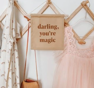 Load image into Gallery viewer, Darling, You're Magic Hang Sign - Imani Collective